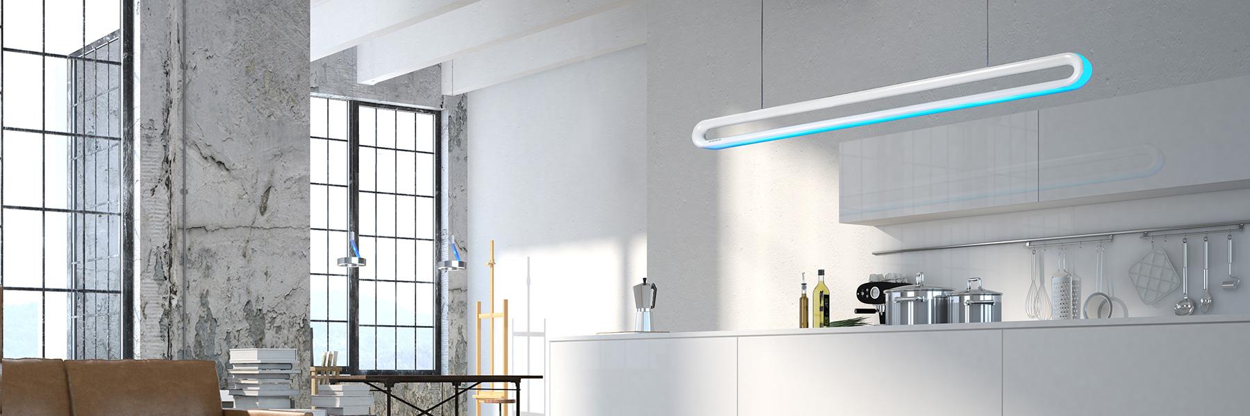 Lichtmanufaktur München loop line sigllicht preisgekrönte designer leuchten