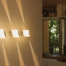 JamCariton Wand drei Lampen