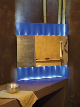 Spiegel Beleuchtung individuell